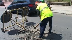 Tragedie în Sibiu. A murit electrocutat în timp ce lucra la asfaltarea unui drum