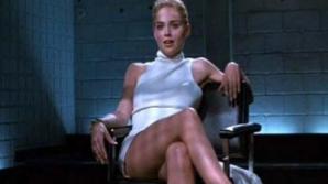 Sharon Stone, în Basic Instinct