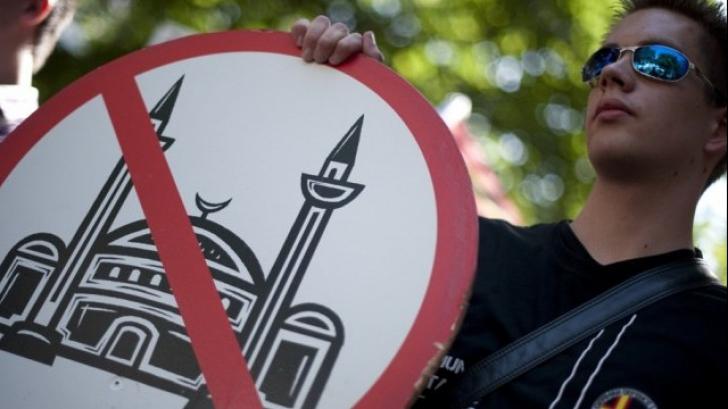 <p>Demonstrații antiislam</p>