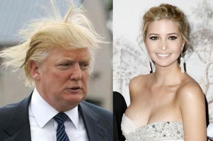 Donald şi Ivanka Trump