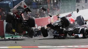 Accident TERIBIL în Formula 1