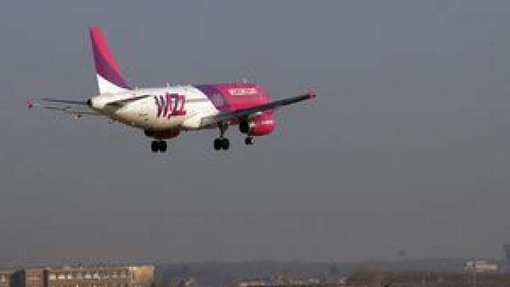 Aterizare de urgență a unei curse a companiei Wizz Air