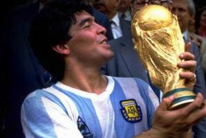 Maradona, campion mondial în 1986