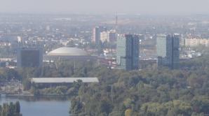 Gemenii din Piaţa Presei, vedere de pe SkyTower