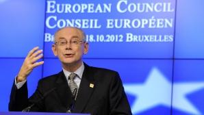 Van Rompuy, de partea manifestantilor de la Kiev / Foto: MEDIAFAX