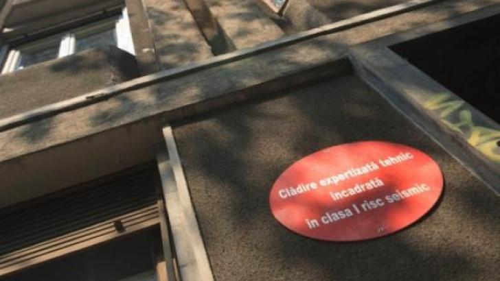 Clădirile marcate cu bulină roşie împânzesc Bucureştiul