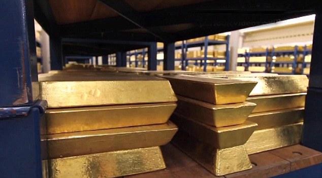 Rezerva de aur a Marii Britanii valorează 240 de miliarde de euro