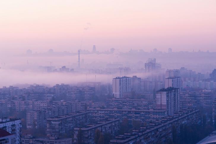 Kievul în ceaţă, 10 imagini de sfârşit de lume