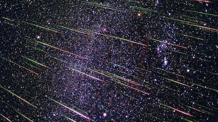 Ploaie de meteoriți pe 13-14 decembrie