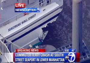 Accident de feribot în New York