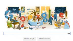 An Nou Fericit!, ne urează Google cu un doodle special