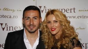 Adrian Cristea, alături de Denisa Nechifor