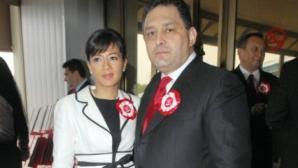 Oana Niculescu Mizil, alături de Marian Vanghelie