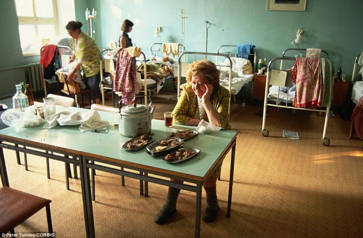 Ultimele zile ale Uniunii Sovietice, în imagini color