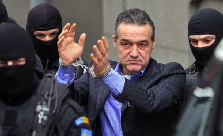 Gigi Becali a mai fost arestat în toamna lui 2010