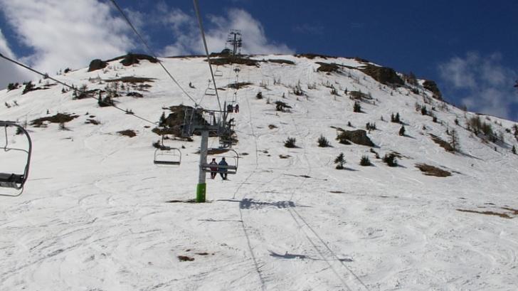 Instalaţiile de altitudine din Sinaia sunt oprite, vineri