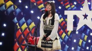 Românii au talent: Cornelia Tihon a impresionat juriul