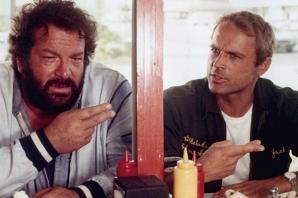 Actorii italieni Bud Spencer şi Terence Hill