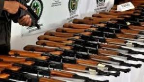 11 dintre armele furate au fost găsite în casa bunicilor interlopului Eugen Preda