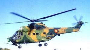 MApN: Elicopterul prăbuşit în Bacău este un aparat Puma Socat