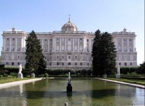 Reşedinţa oficială a Regelui Şpaniei, Juan Carlos I