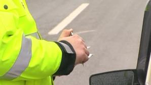 Sute de şoferi au primit sancţiuni dure în ultimele zile