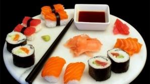 Mâncarea sushi, mai periculoasă decât alimentele fast food