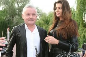 Monica Gabor si fostul sot, Irinel Columbeanu