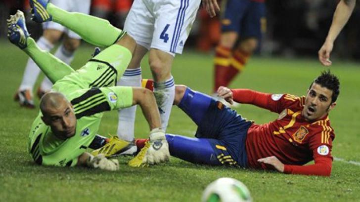 Spania, rezultat slab cu Finlanda