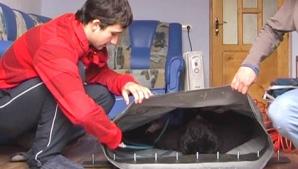 A construit o cameră hiperbară pentru a-şi ajuta fratele