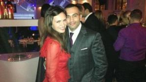 Maria Marinescu şi soţul său, Frank Colin. Foto: Facebook