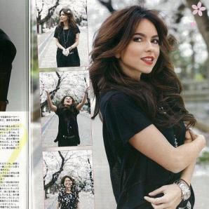 Inna, pictorial pentru o revistă din Japonia