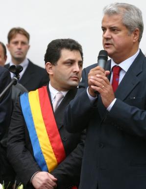 Adrian Năstase şi Marian Vanghelie