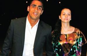 Bănel Nicoliţă şi iubita sa, Cristina