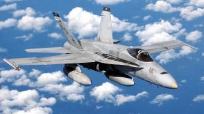 Un F/A-18 al forţelor aeriene SUA