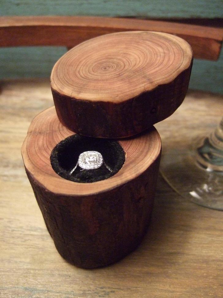 O femeie a rămas UIMITĂ de ce a descoperit într-un butuc de lemn