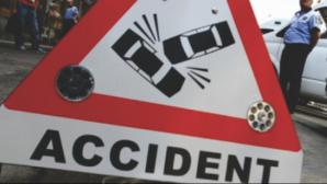 GRAV ACCIDENT în Ialomiţa: Doi morţi şi patru răniţi