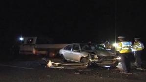 Accident teribil pe Drumul European 85