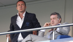 Mihai Stoica, alături de Gigi Becali