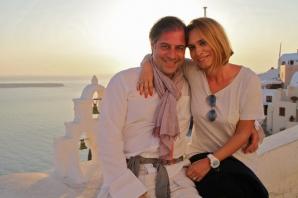 Andreea Esca şi soţul său, Alexandre Eram, vacanţă romantică în Grecia. Foto: protvmagazin.ro