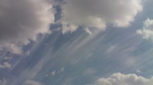 Imagini SENZAŢIONALE de pe cerul Bucureştiului