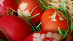 Ouă vopsite în stil tradiţional / Foto: arhivafoto.ro