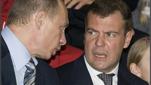 Vladimir Putin şi Dmitri Medvedev