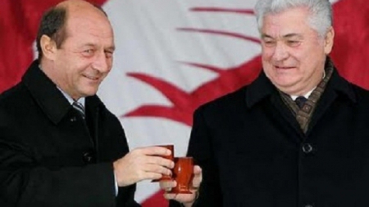 Traian Băsescu şi Voronin, pe când erau prieteni