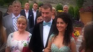 Lucian Bute s-a căsătorit