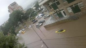 COD GALBEN de inundaţii pe râurile din partea estică a ţării. Vezi HARTA!