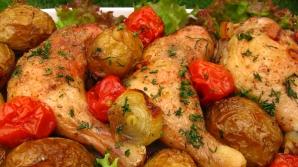 Pulpe aromate cu roşii şi cartofi noi
