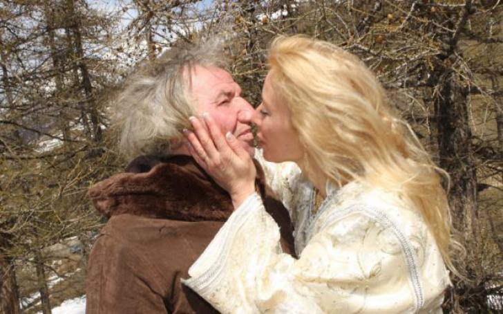 Sandrine Devillard și Marcel Amphoux s-au căsătorit în 2011