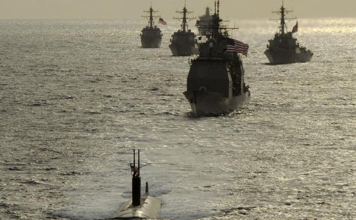 Flota SUA, cea mai puternică din lume