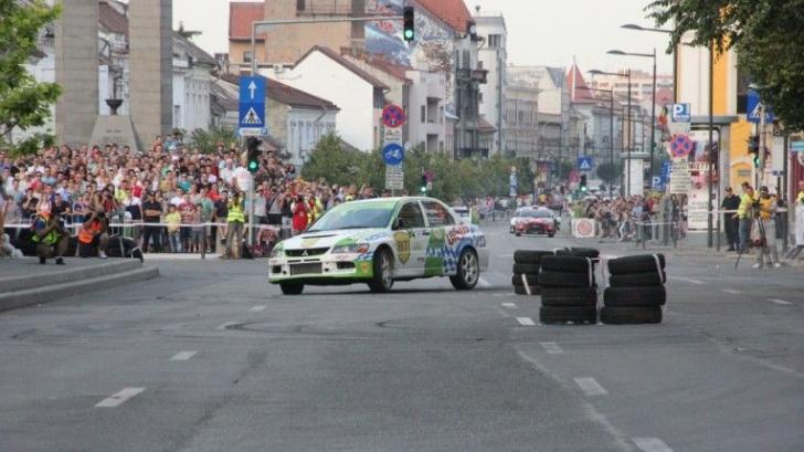Un accident a avut loc la Raliul Clujului. Sursa foto: Arhivă